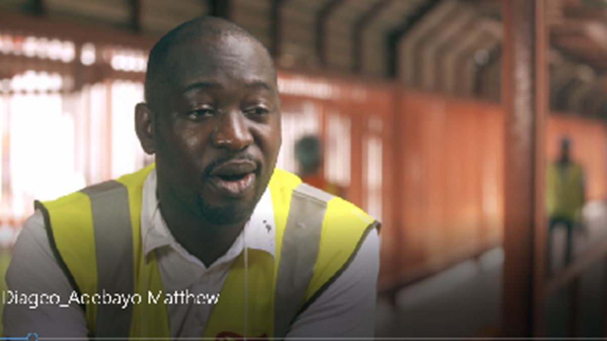 We Are Diageo – Adebayo Matthew
