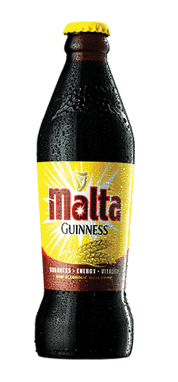 Malta Guinness bottle