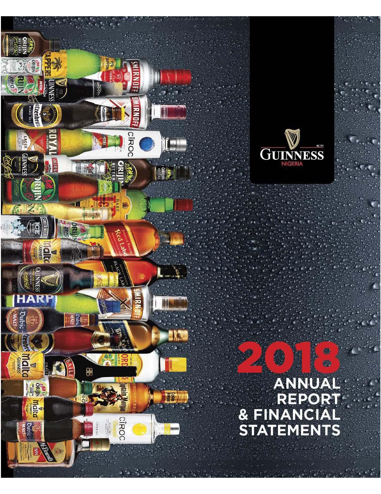 GUINNESS NIGERIA | 2018 ANNUAL REPORT